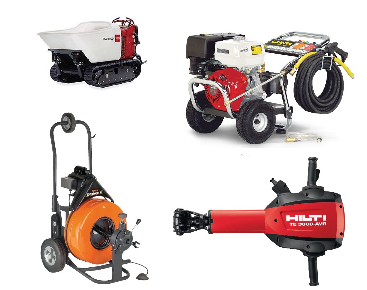 Equipment rentals in Twin Cities Metro Area