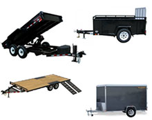 Rent a trailer at Hejny Rental in Twin Cities Metro Area