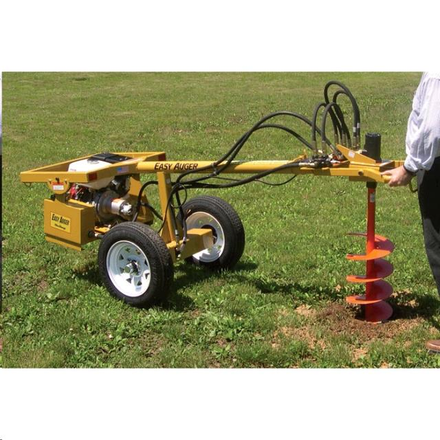 Auger 1 Man Towable Easyauger Rentals St Paul Mn Where