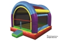 Rental store for MOONWALK, 10  MINI WACKY BOUNCER ARCHED in St. Paul MN