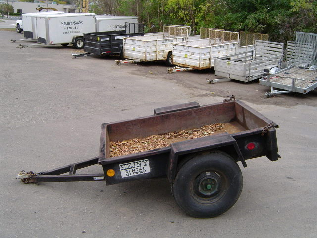 Where to find TRAILER, 4X6 DIRT in St. Paul