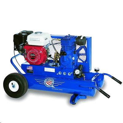 Where to find AIR COMPRESSOR, 5HP GAS 10 CFM in St. Paul