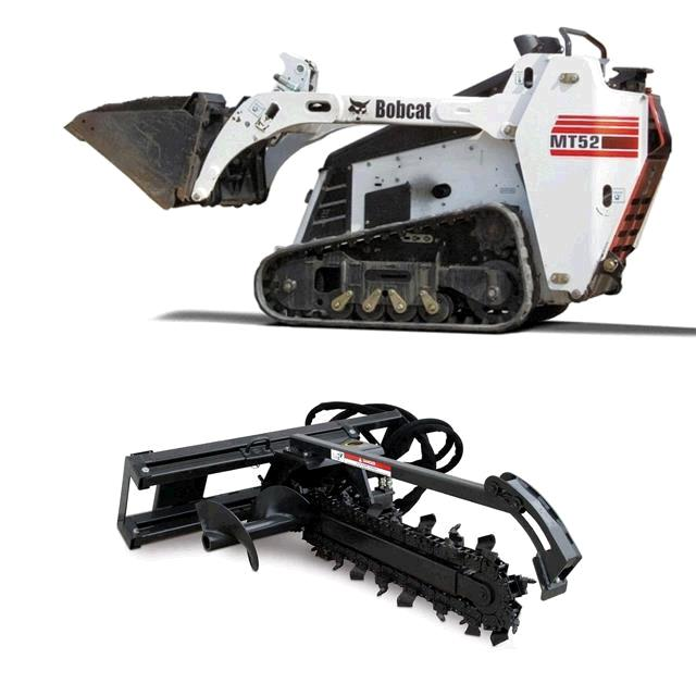 Where to find BOBCAT, MT52 W  8 X24  TRENCHER in St. Paul