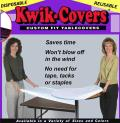Where to rent TABLECOVER, KWIK 8  WHITE in St. Paul MN