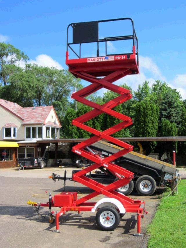Scissor Lift 24 Foot Towable Rentals St Paul Mn Where To