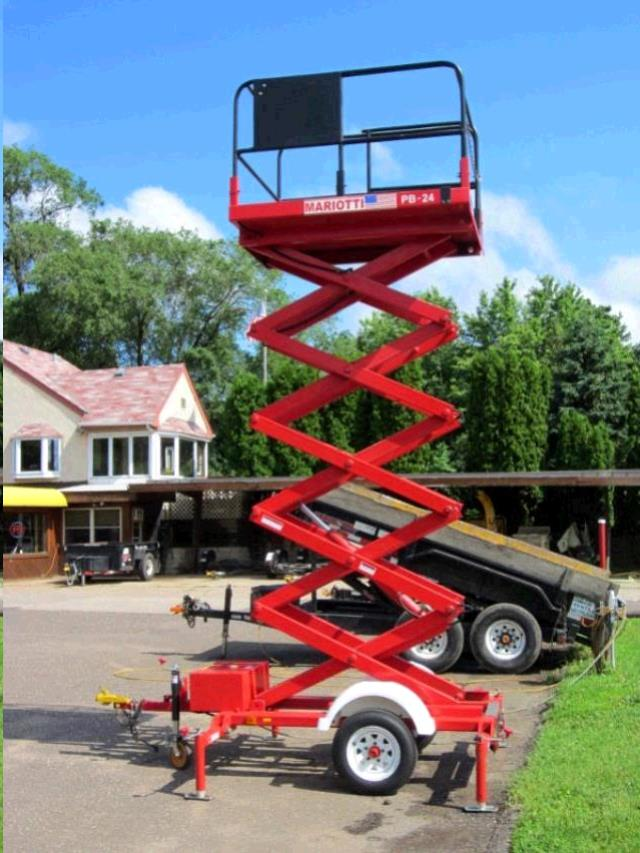 Where to find SCISSOR LIFT, 24  TOWABLE in St. Paul