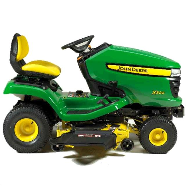 Where to find MOWER, 42  RIDING 18HP JOHN DEERE in St. Paul