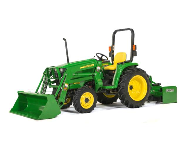 Where to find TRACTOR, JD 32hp W  LOADER BOX BLADE in St. Paul