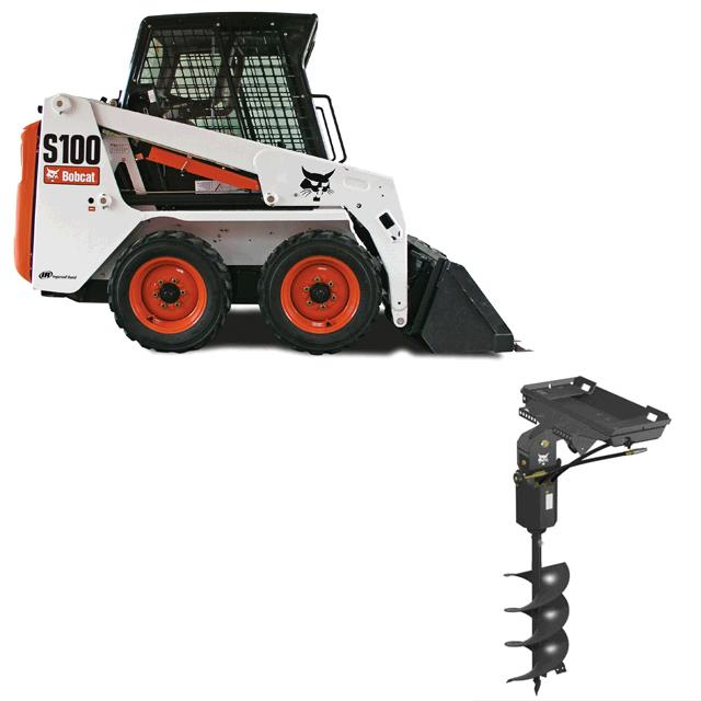 Where to find BOBCAT, S100 W  AUGER ATTACH in St. Paul