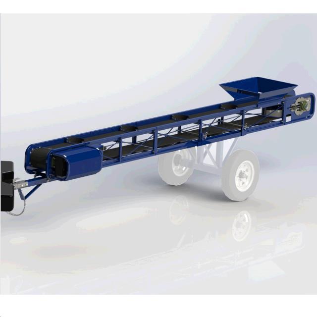 Conveyor Dirt 24 Foot X 10 Inch Towable Rentals St Paul