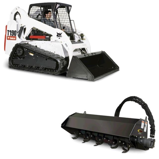 Where to find BOBCAT, T190 W  TILLER in St. Paul