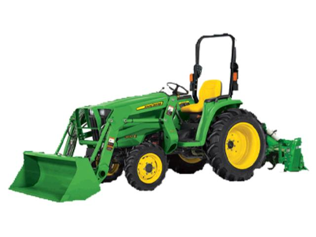 Where to find TRACTOR, JD 32hp W  65  TILLER PKG in St. Paul
