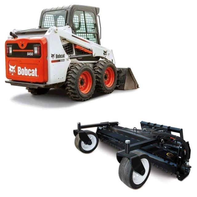 Where to find BOBCAT, S450 W  HARLEY RAKE in St. Paul