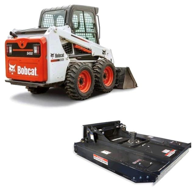 Where to find BOBCAT, S450 W  60  BRUSH MOWER in St. Paul