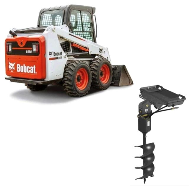 Where to find BOBCAT, S450 W  AUGER ATTACH in St. Paul