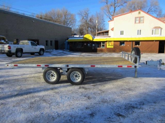 Where to find TRAILER, 8 5 X16 FLATBED 3000 LB. in St. Paul