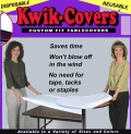 Rental store for TABLECOVER, KWIK 6 FT PURPLE in St. Paul MN