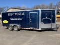 Rental store for TRAILER, 7 X18  COVERED W RAMP in St. Paul MN