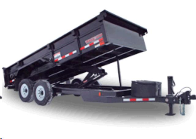 Where to find TRAILER, DUMP 8000 LB 7 X14  XL in St. Paul