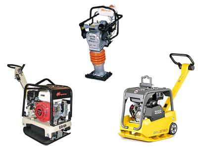 Rent your Compactor, Tamper, Jumping Jack, Vibrating Compactor