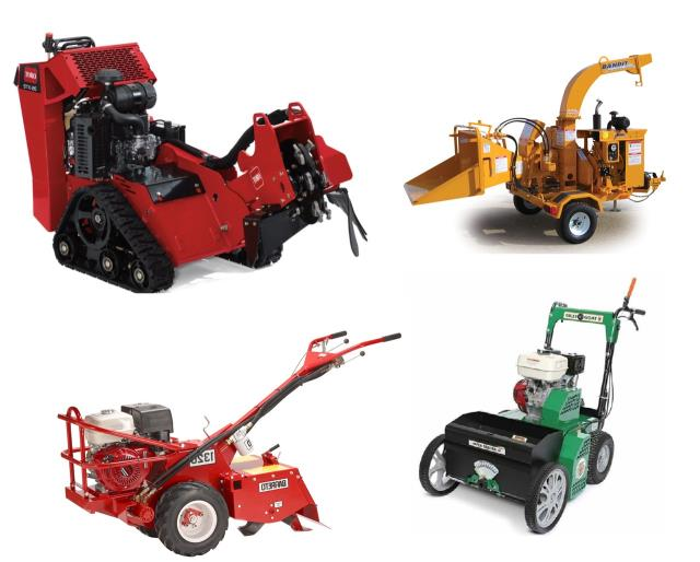 Landscaping equipment rentals in Twin Cities Metro Area