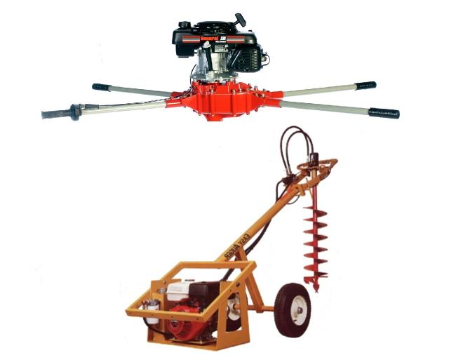 Rent your Hole Digger, Post Hole Auger