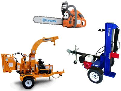 Rent  Tree Trimming Equipment