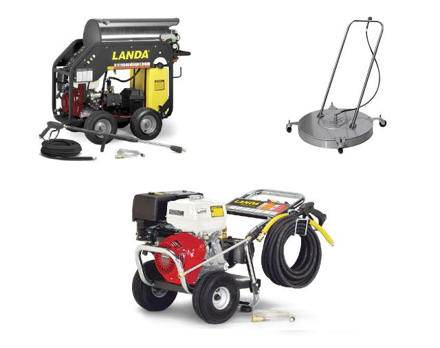 Rent your Hot Pressure Washer, Cold Pressure Washer