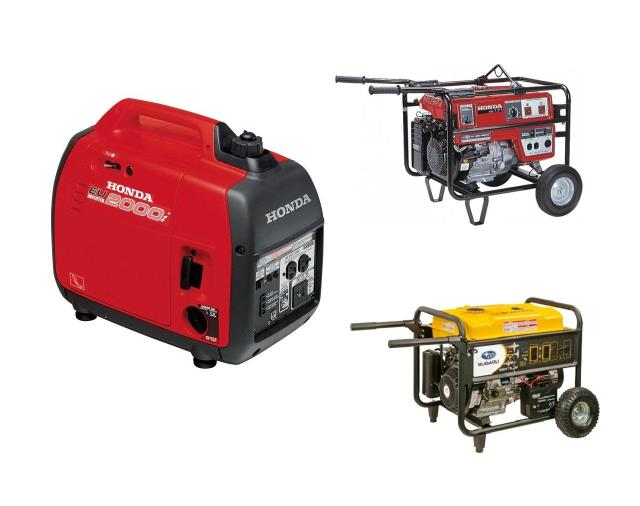 Rent your HONDA INVERTER GENERATORS, PORTABLE GENERATORS, PORTABLE WELDER-GENERATOR