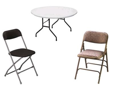 Rent Tables & Chairs