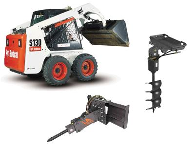 Rent  Bobcats And Attachments