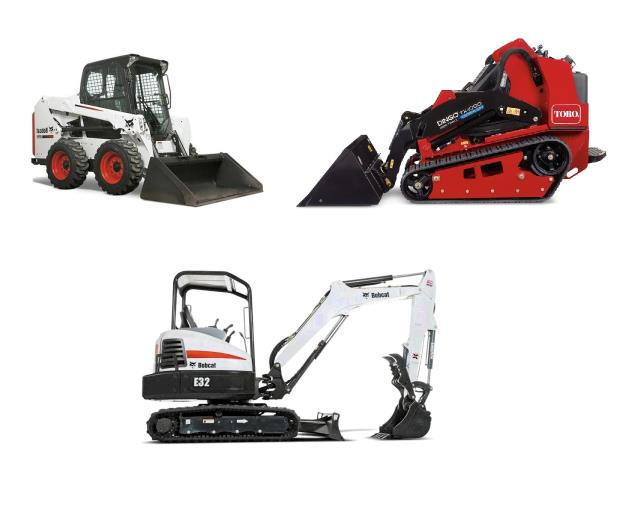 Earthmoving equipment rentals in Twin Cities Metro Area